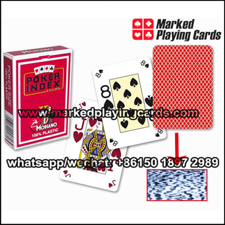 barcode marked decks for poker scanner